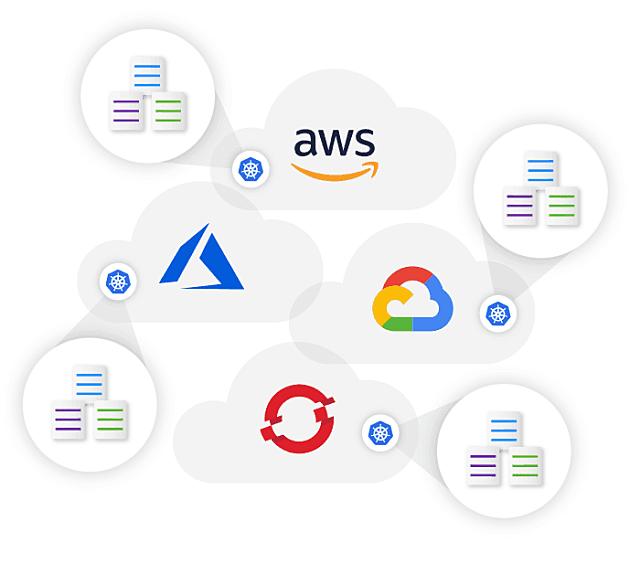 Autonomous cloud logos