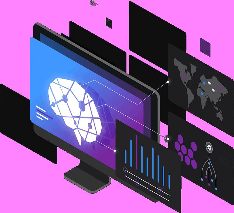 Dynatrace ai desktop observability illustration