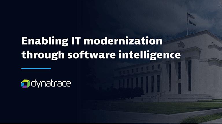 Enabling it modernization